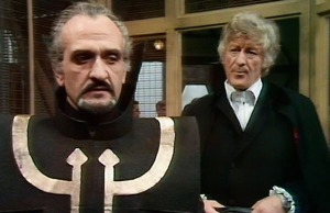 Pertwee and Delgado