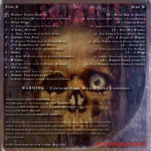 Thirteen - Back Cover