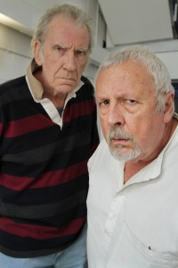 Scarifyers 9 - David Warner and Terry Molloy