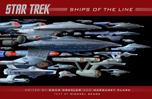 Star Trek Ships of the Line book (2014) front cover
