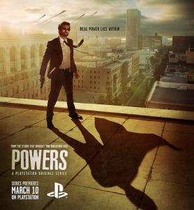 Powers key art