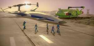 Thunderbirds Are Go, 105 - Virgil, Gordon, Kayo, Alan and Scott