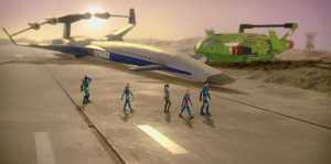 Thunderbirds Are Go, 105 - Virgil, Gordon, Kayo, Alan and Scott