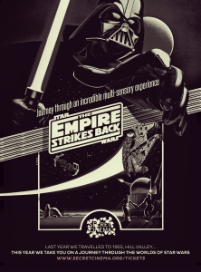 POSTER Secret Cinema Presents Star Wars The Empire Strikes Back 280x206 HiRes