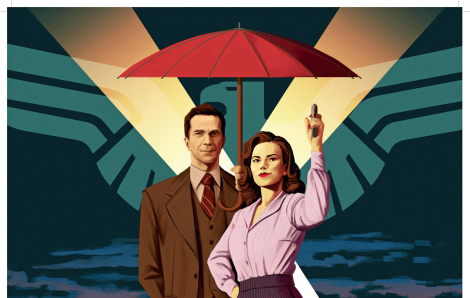 A Noir look for Agent Carter's secondseason