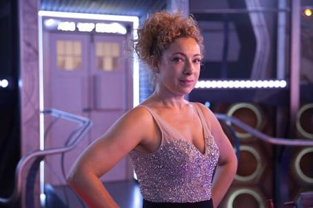 River Song returns for Doctor Who Christmas Special