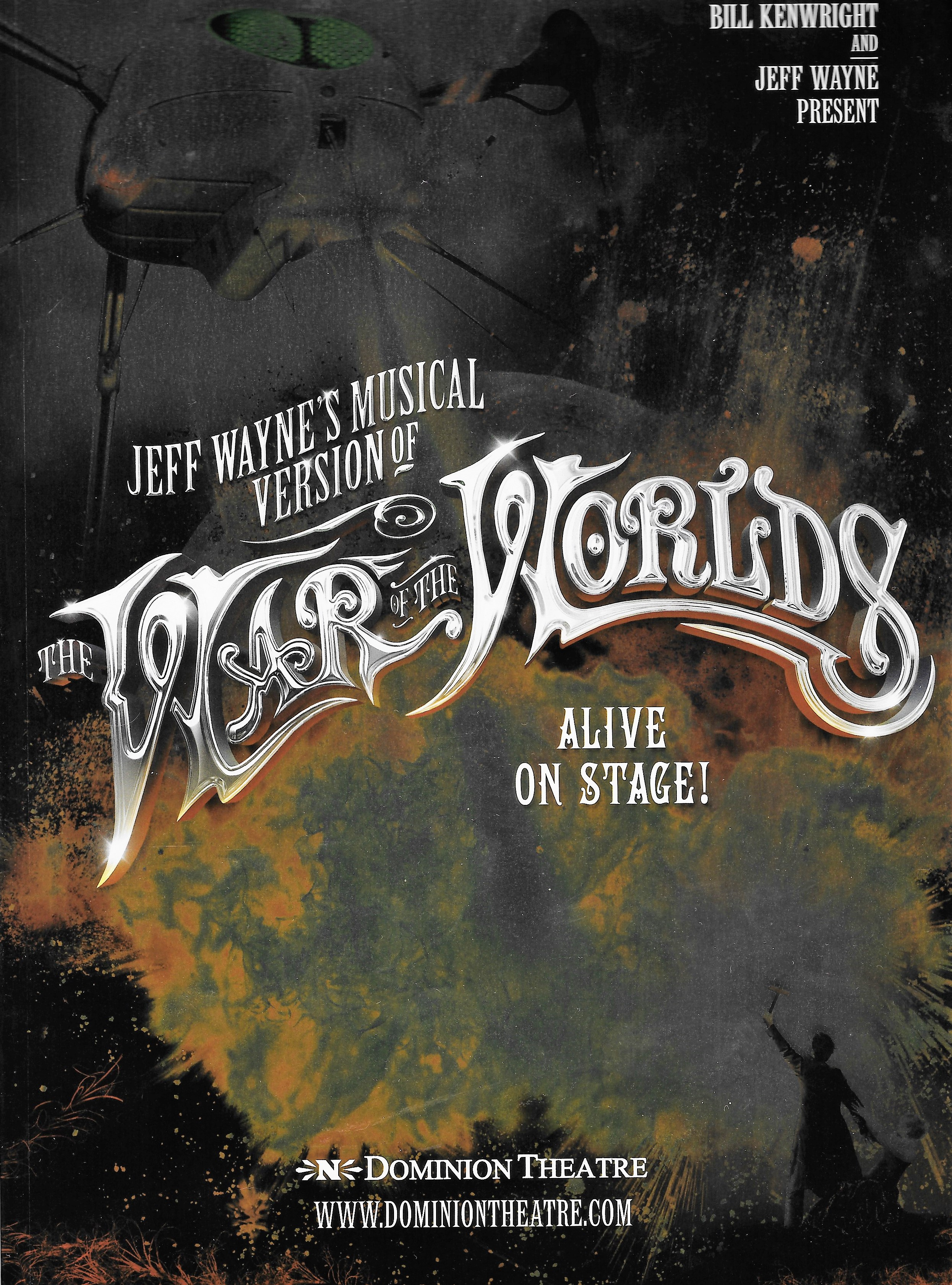 Jeff waynes the war of the worlds review alive on stage sci fi jeff waynes the war of the worlds review alive on stage sci fi bulletin exploring the universes of sf fantasy horror fandeluxe Images