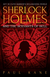 SHERLOCK HOLMES AND THE SERVANTS OF HELL COVER